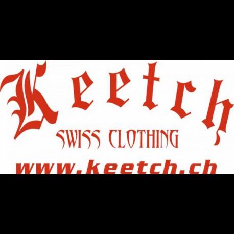 Stickers Gothique 70 CM Rouge